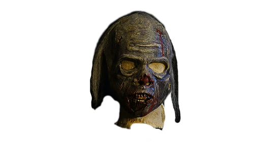 3/4 Latex Zombie Mask