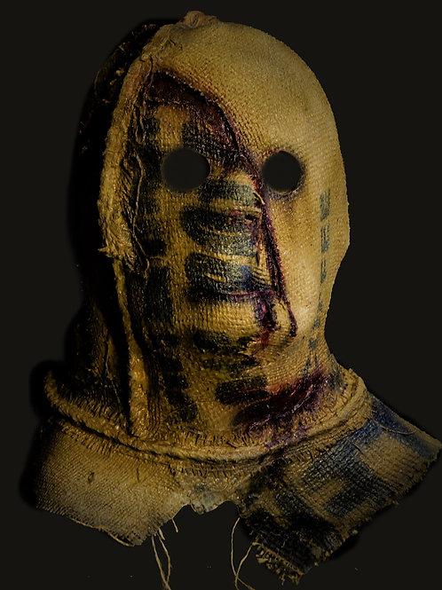 Slashed Burlap Scarecrow Mask