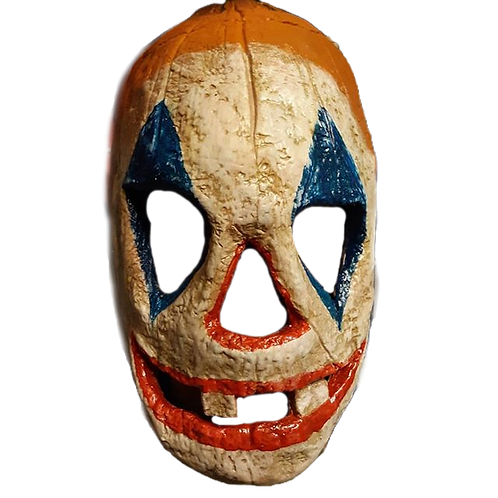Jack O LanternLatex Half Mask Clown Variant