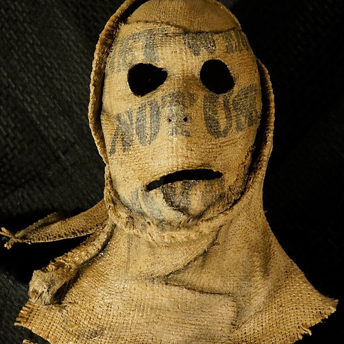 Barn Creeper Burlap Mask