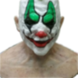 Silicone ClownMask After Repair