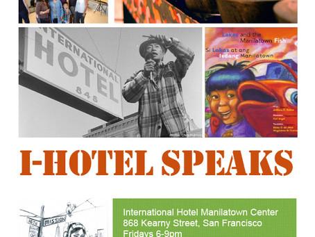 I-Hotel Speaks
