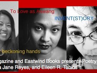 Literary Trifecta Featuring: Arlene Biala, Barbara Jane Reyes, & Eileen R. Tabios.