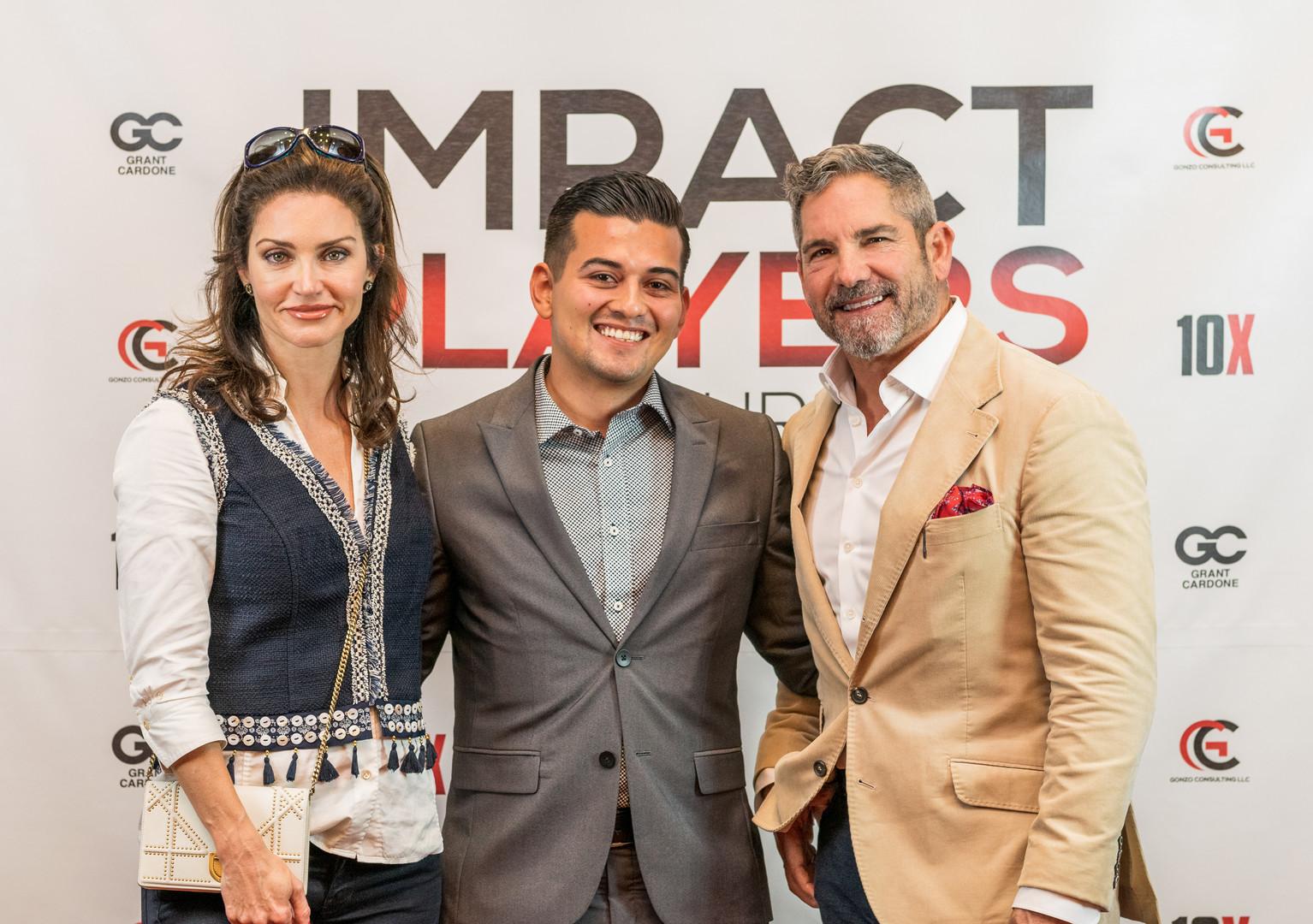 Grant & Elena Cardone and Ruben Alvarez