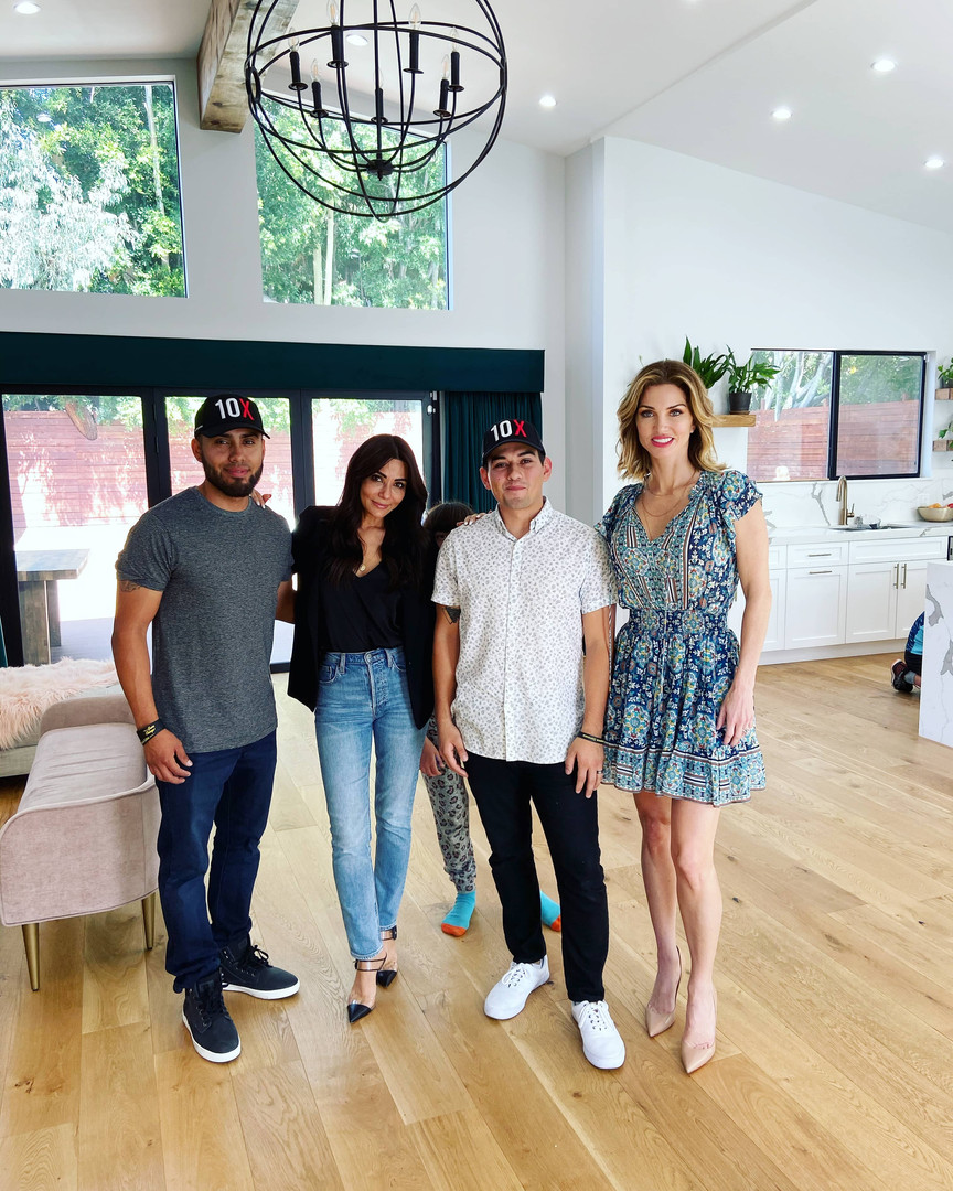 Ruben Alvarez, Maribel Hernandez and Elena Cardone