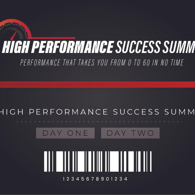 High Performance Success Summit
