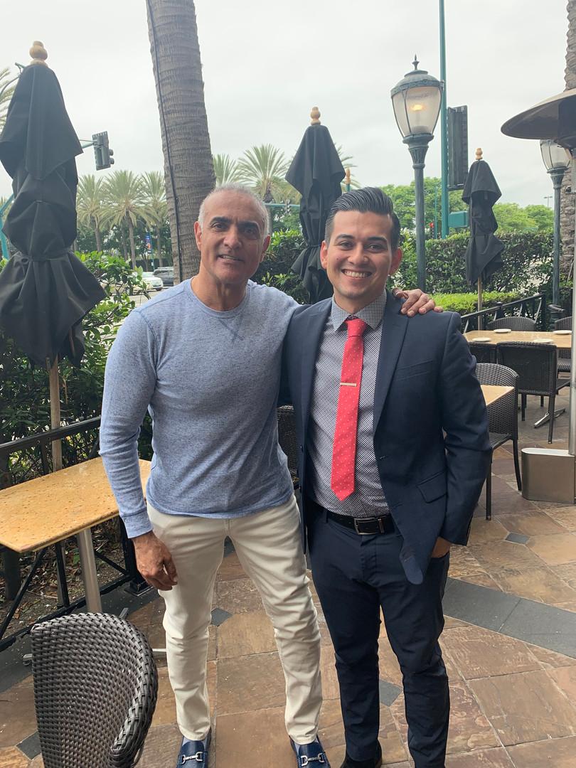 Tim Grover and Ruben Alvarez