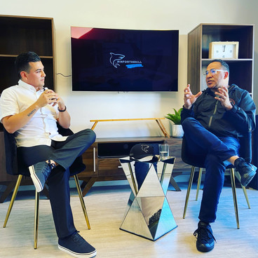 Ruben Alvarez Interviews Tim Storey