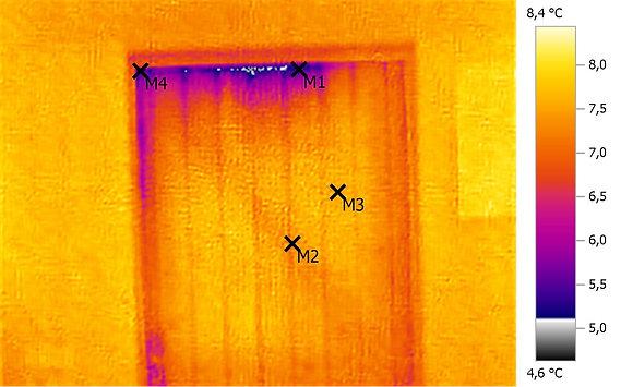Gebäudethermografie (Außenhülle)