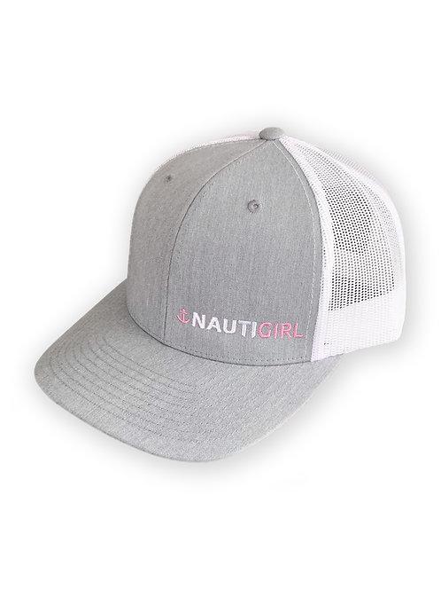 """Womens """"Nauti Girl"""" Retro Trucker Hat"""