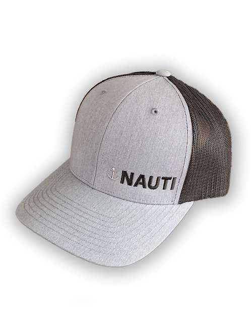 "Mens ""Nauti"" Retro Trucker Hat"