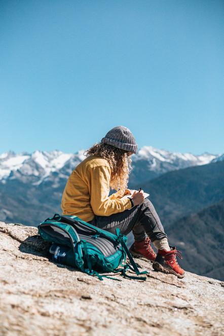 A step out from the 'normal life.' Self-discovery and new perspectives. Myths about solo travel