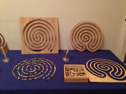 Tabletop labyrinths