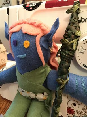 Elf Warlock Plushie