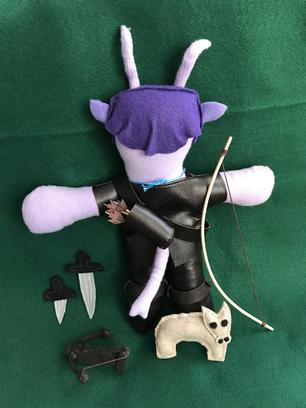 Tiefling Ranger Plushie