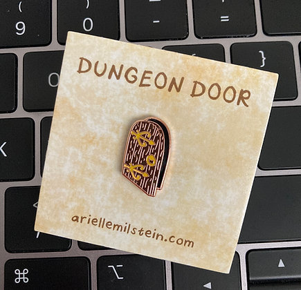 Mini Dungeon Door Pin