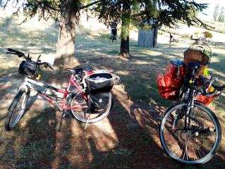 Echange sur le voyage à vélo samedi 7 septembre