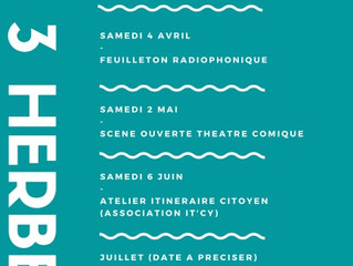Calendrier des animations cantine bio