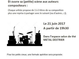 Mercredi 21 juin, musique..