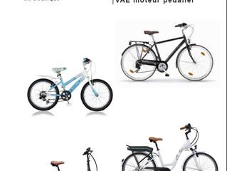 Destockage vélos