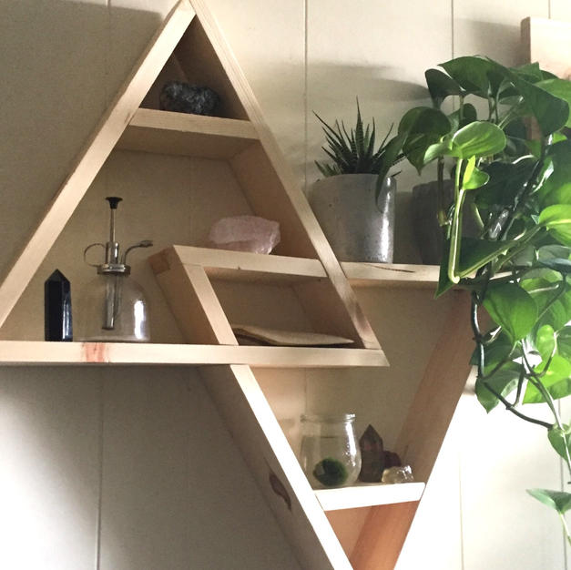 Earth & Air wall-mounted altar - $60