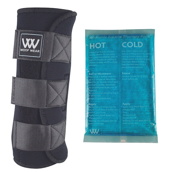 WOOF WEAR ICE THERAPY BOOTS (complete with packs)
