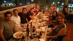 ערב צוות במסעדת אלפרדו