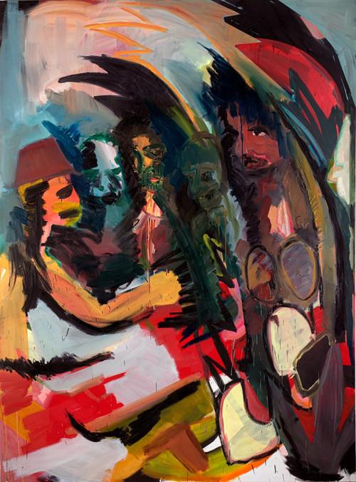 Hey, oil on canvas, 200x150 cm