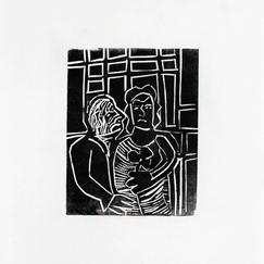 Linocut, 21x29 cm, 2020
