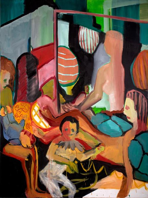 Gentle Balance, oil on canvas, 200x150 c