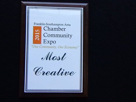 Chamber of Commerce Business Expo: Cofield's Locksmith Wins Most Creative