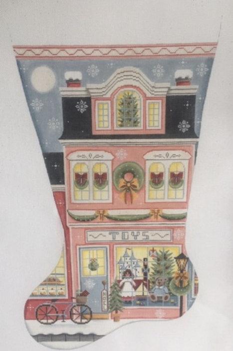Pink Toy Store Stocking