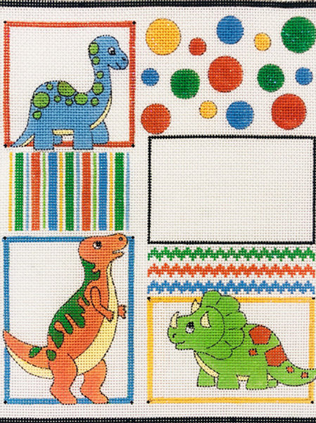 Dinos and Balloons Baby Sampler