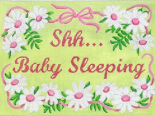 Shh Baby Sleeping Girl