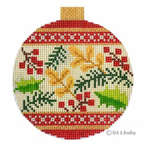 Holiday Baubles - Red Berries