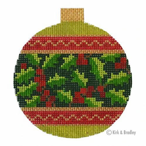 Holiday Baubles - Holly