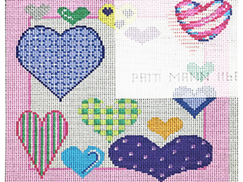 Hearts Tooth Fairy Pillow