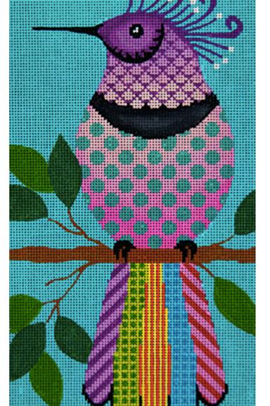 Purple Kra-Kra Bird