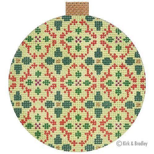 Florentine Bauble Ornament