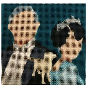 Downton Abbey Coaster - Lord and Lady Grantham