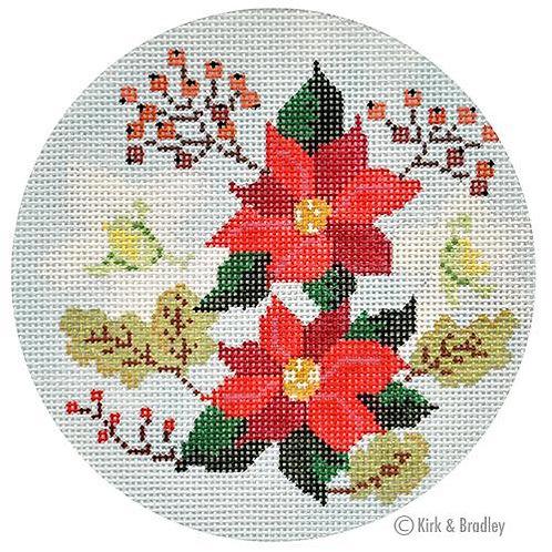 Winter Floral Ornament