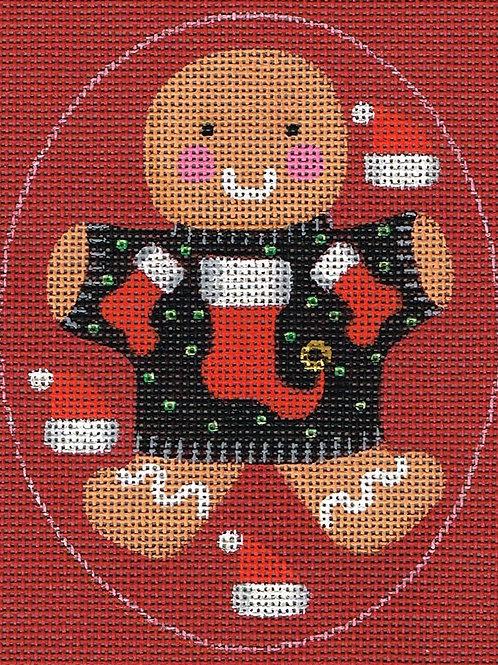 Ginger Stockings Ornament