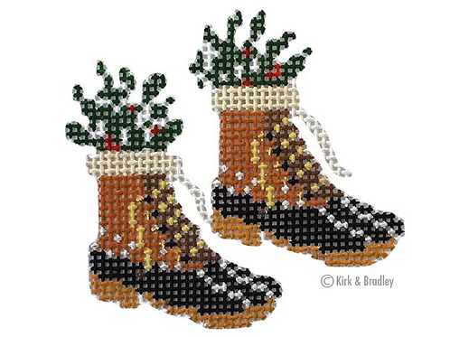 Retro Ski - Fur Bean Boots