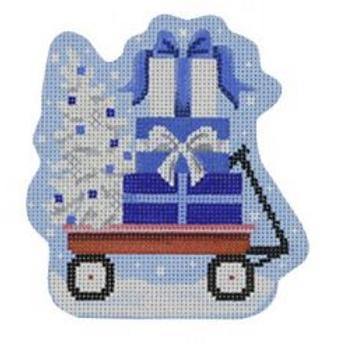 Lil Blue Hanukkah Wagon