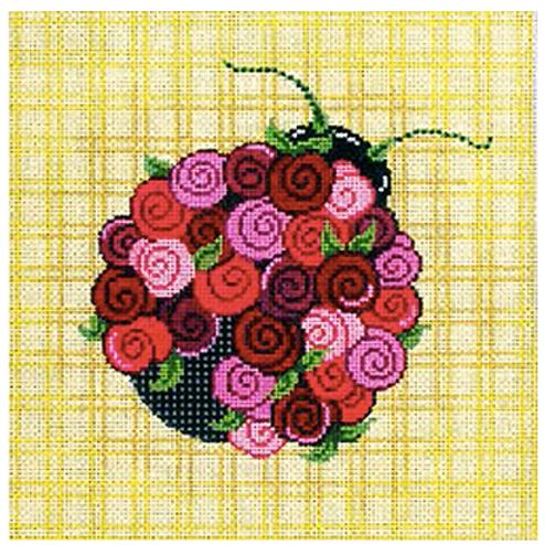 Floral Ladybug