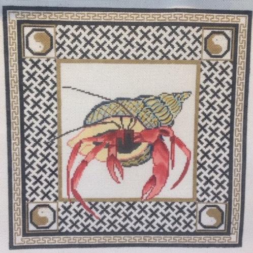 Hermit Crab with Border