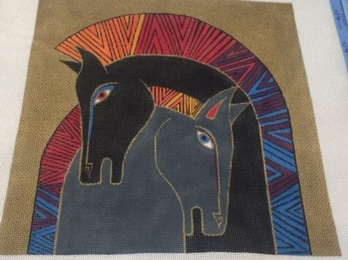 Embracing Horses