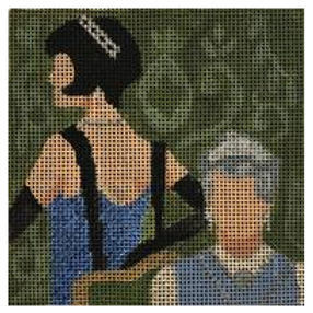Downton Abbey Coaster - Lady Mary & The Dowager