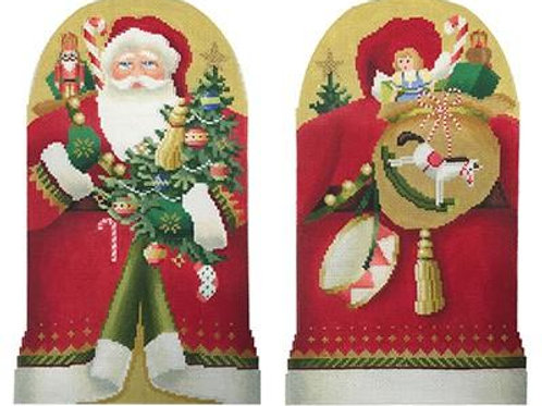 Two-Sided Father Christmas