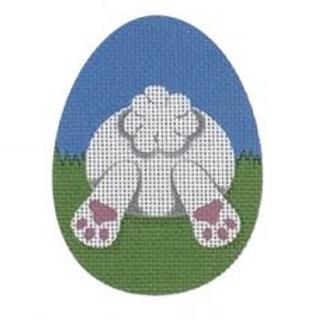 Bunny Butt Flat Egg